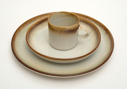 CUP with dinnerware