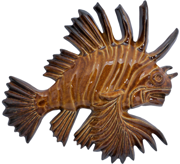 Wall Lion Fish