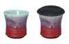 New Recycle cups. GetaGrip are fun reusable travel cups with a silicone lid.