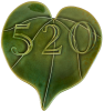 Valentine Heart Leaf